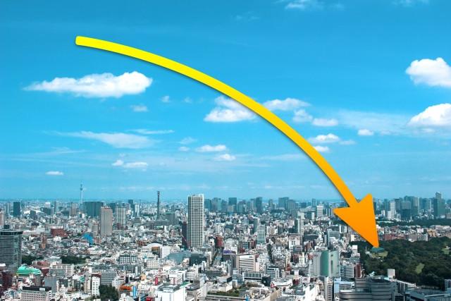 人口減少が予測される日本